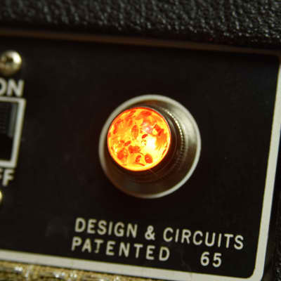 Invisible Sound Guitar amplifier Jewel Lamp Indicator amp jewel.  Model 006.  For pilot light