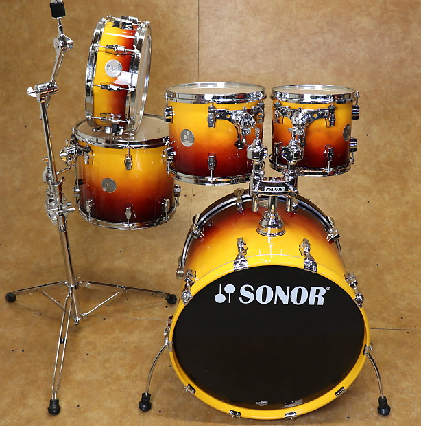 62ce354f6375 Sonor 5pc Force 3005 Shell Pack Sunburst