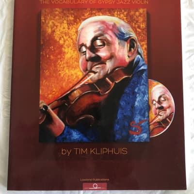 Stephane Grappelli Licks The Vocabulary of Gypsy Jazz Violin Sheet Music Song Book