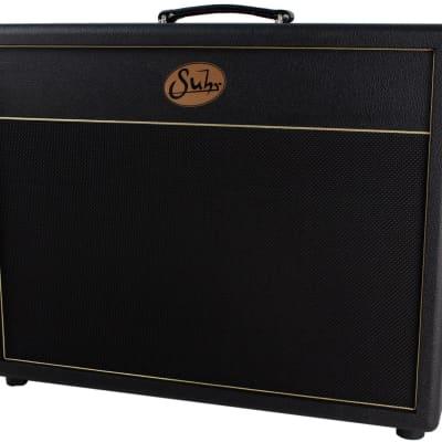 Suhr 2x12 Deep Speaker Cabinet, Black Grill, Vintage 30's for sale