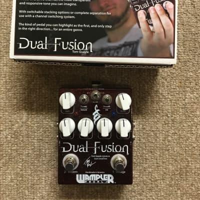 Wampler Dual Fusion Tom Quayle Signature Overdrive Pedal