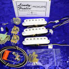 Lindy Fralin Real '54s Premium Pickups Set For Fender Stratocaster Strat NEW With Free Wiring Kit! image