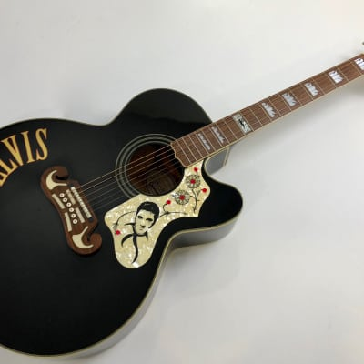 Epiphone Elvis Presley EJ-200  1996 Black for sale