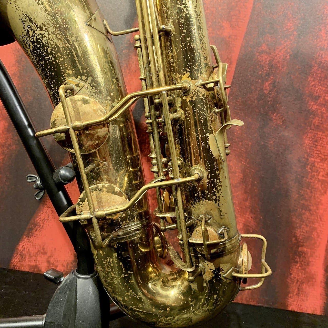 1952 Conn 10M Naked Lady Tenor Saxophone w/ Original Case