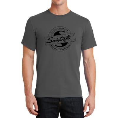 Sawtooth Drum Badge Graphic T-Shirt, Large