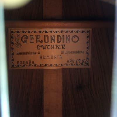 Gerundino Rio 1983 Rio Palisander Cedar for sale