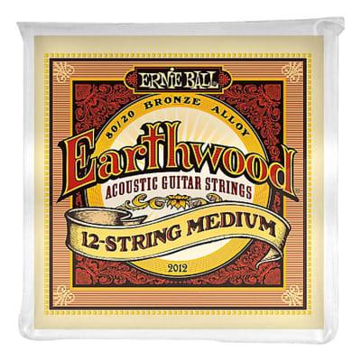 Ernie Ball 2012 Earthwood 80/20 Bronze 12-String Acoustic Guitar Strings