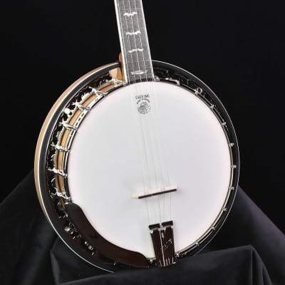 Deering White Lotus five string Banjo for sale