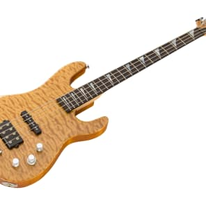 Charvel USA Custom Shop Dinky Bass - Natural for sale