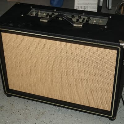 Vintage 1963 Sano 500r 2x12 Tube Accordian Amp Awesome Guitar Reverb!   Made in the USA for sale