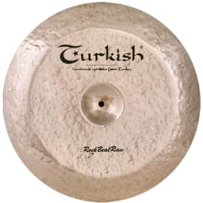 "Turkish Cymbals 20"" Rock Series Rock Beat Raw Swish RBR-SW20"