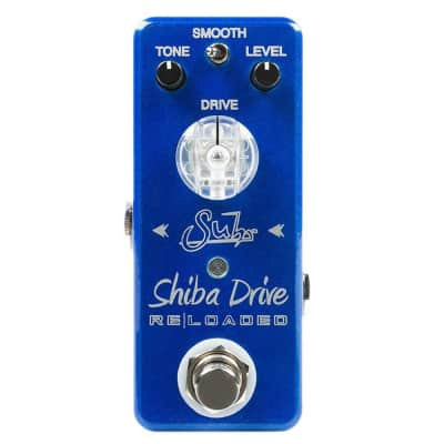 Suhr Shiba Drive Reloaded Mini Overdrive Guitar Effects Pedal Stompbox
