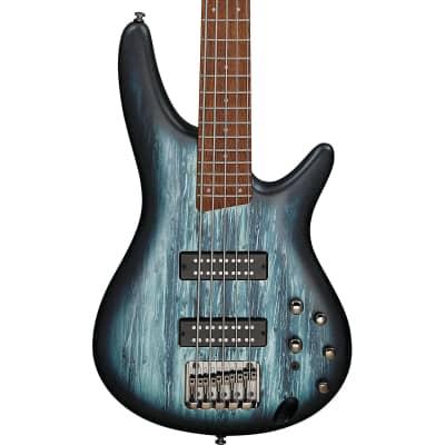 Ibanez SR305E SR Standard 5-String Bass Guitar, Sky Veil Matte