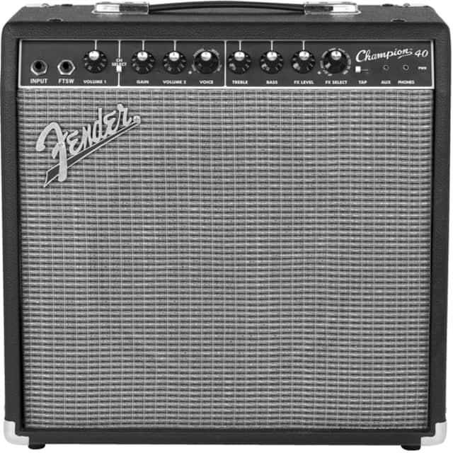 Fender Fender Champion 40 Guitar Combo Amp Black 120V image