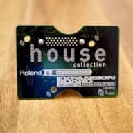Roland JV-JD Expansion Card Roland SR-JV80-19 - House