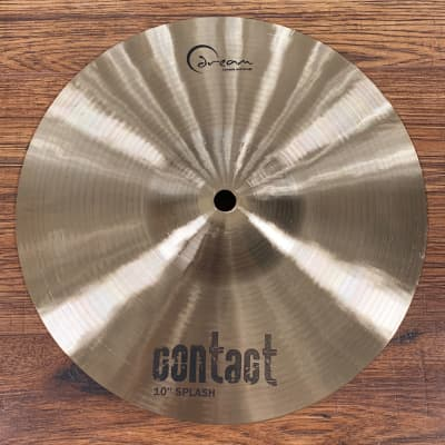 "Dream Cymbals C-SP10 Contact Series Hand Forged & Hammered 10"" Splash Cymbal"
