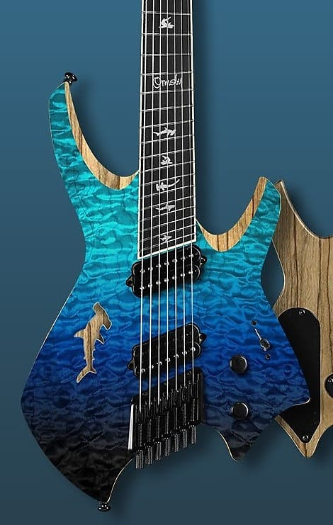 Ormsby Goliath Shark 8 - Strictly Limited to 200 guitars - Deep Sea