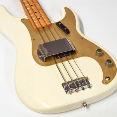 Fender American Vintage 1957 Precision Bass 2009 White Blonde