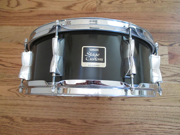 yamaha stage custom 14 x 5 snare drum jade green lacquer reverb. Black Bedroom Furniture Sets. Home Design Ideas