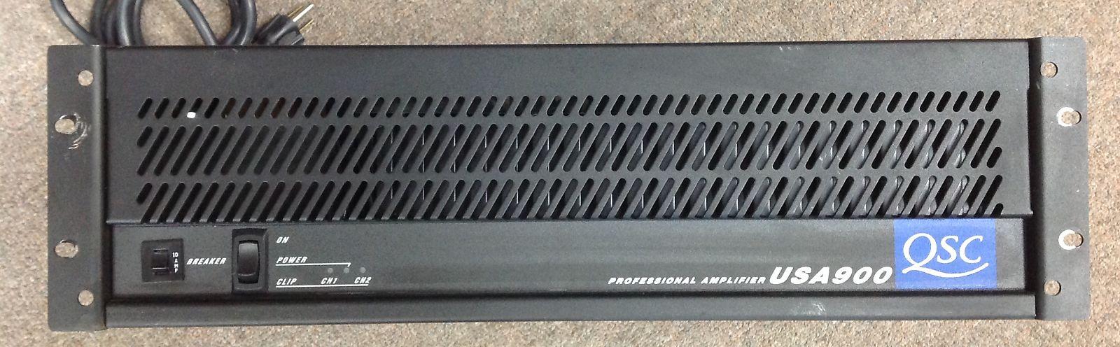 Qsc Usa900 Power Amplifier Amplifiers