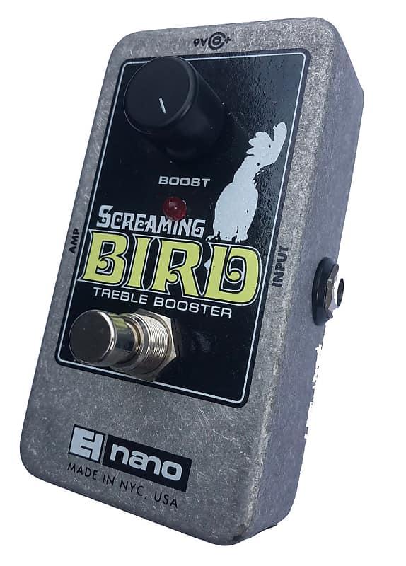 electro harmonix screaming bird treble boost reverb. Black Bedroom Furniture Sets. Home Design Ideas