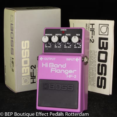Boss HF-2 Hi Band Flanger 1985 s/n 611200 Japan