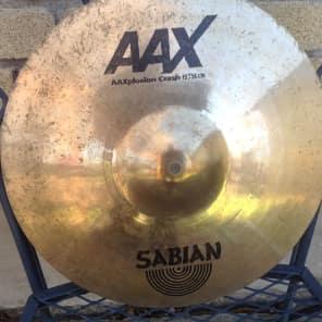 """Sabian 15"""" AAX X-plosion Crash"""