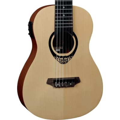 LAG TKT150E Slim Electro-Acoustic Guitalele - 6-String Tenor Ukulele for sale