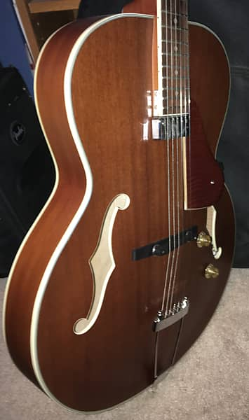 Harley Benton Manhattan Standard Hollow Body Electric Guitar