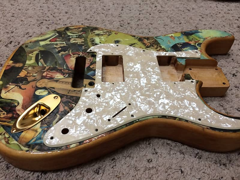 Musikraft Strat Project Basswood Body with Charvel 2-1/4