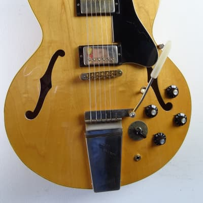 Gibson ES-345 TD  Stereo 1972/1973 Natural With Lyre Vibrola