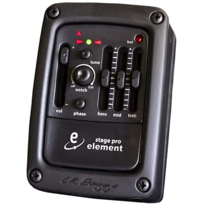 LR Baggs StagePro Anthem Onboard Acoustic Guitar Pickup System w/ Preamp, EQ, Tuner