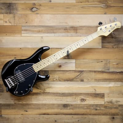 Sterling by Music Man S.U.B. StingRay5 Ray5-BK 5-String Electric Bass Black for sale