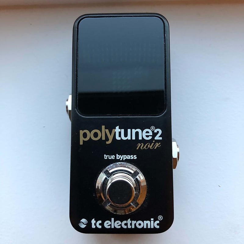 Tc Electronic Polytune 2 : tc electronic polytune 2 noir tuning pedal pbc music reverb ~ Russianpoet.info Haus und Dekorationen