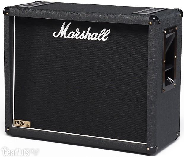 marshall 1936 150 watt 2x12 extension cabinet reverb. Black Bedroom Furniture Sets. Home Design Ideas