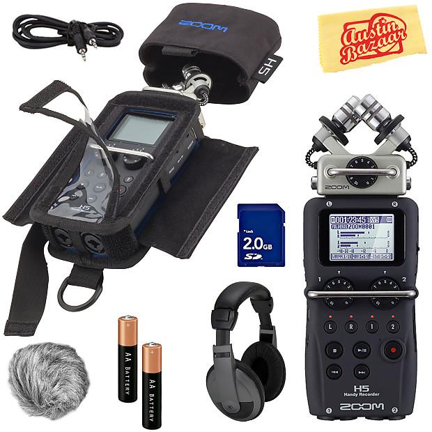 Zoom H5 Handy Recorder w/ Headphones   Austin Bazaar
