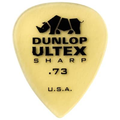 Dunlop Ultex Sharp Picks (set of 6) - .73