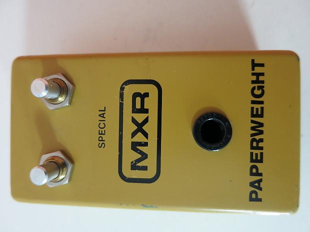 vintage mxr pedals
