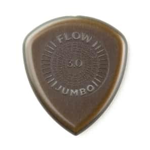 Dunlop 547P3.0 Flow Jumbo Grip Guitar Picks - 3pk - 3.0mm for sale