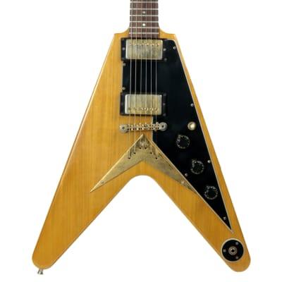 1983 Gibson Flying V Natural KORINA Heritage Series 1958 Reissue w/ OHSC! explorer for sale