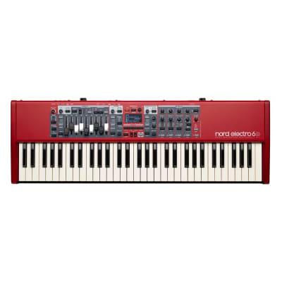 Nord Electro 6D 61 Key Keyboard Piano Swan Flight Case