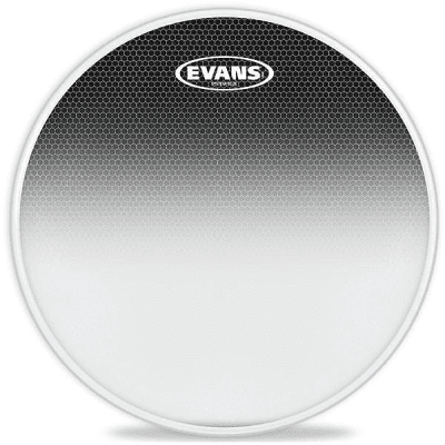 """Evans TT12SB1 System Blue SST Marching Tenor Drum Head - 12"""""""