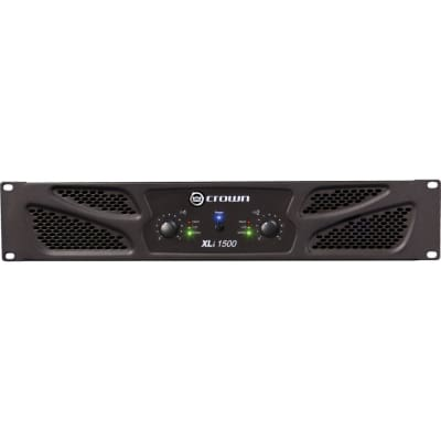 Crown Audio XLi 1500 Stereo Power Amplifier for sale