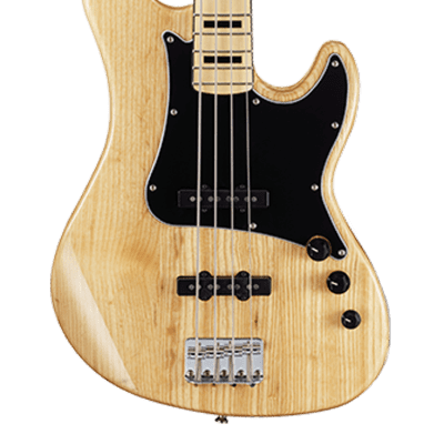 Cort GB54JJ 4-String Electric Bass Guitar Natural for sale