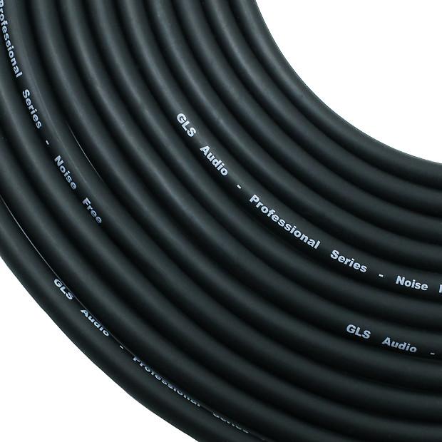 Gls Audio 50ft Black 10 Pack Mic Cables Xlr M To Xlr F