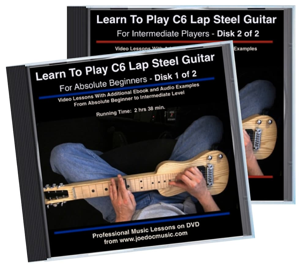 learn to play c6 lap steel guitar 2 dvd set reverb. Black Bedroom Furniture Sets. Home Design Ideas