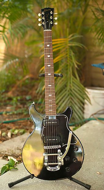 Gibson Les Paul Junior Lite Wbigsby B5 2000 Black Reverb