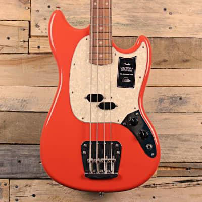 Fender Vintera '60s Mustang Bass (2021, Fiesta Red)