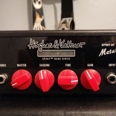 Hughes & Kettner Spirit Nano Spirit of Metal 25-Watt Mini Guitar Amp Head