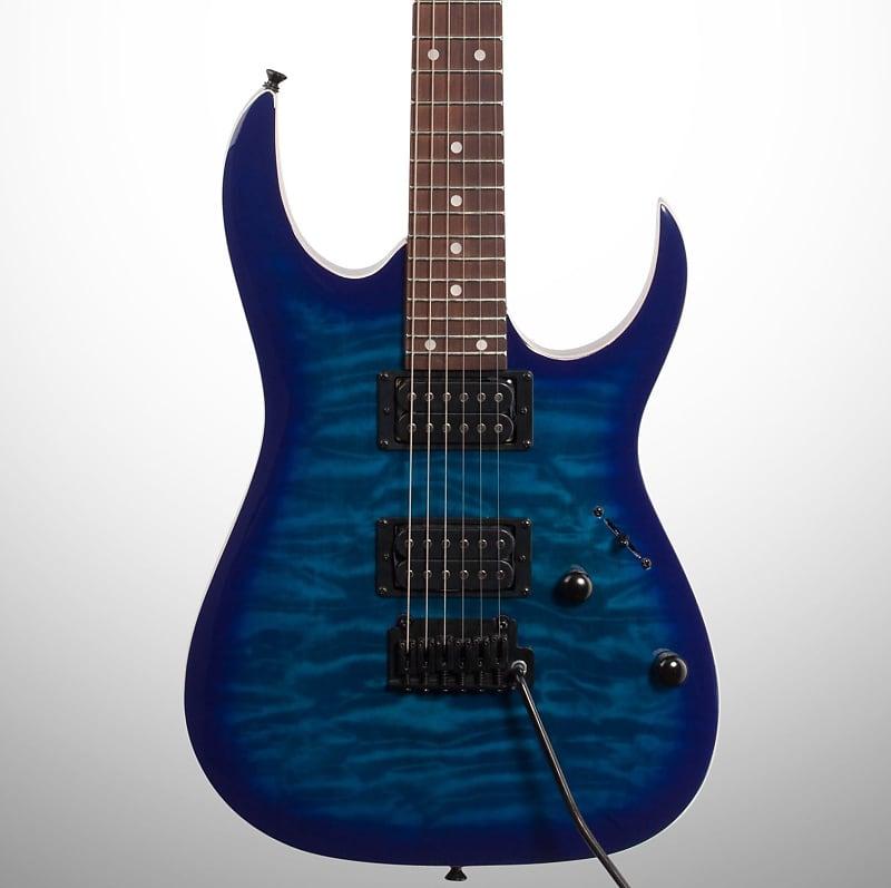 ibanez grga120qa gio electric guitar transparent blue burst reverb. Black Bedroom Furniture Sets. Home Design Ideas